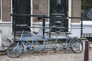 The Netherlands, Holland, Amsterdam, tandem by olbor