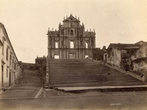 Old Church at Macao (China)