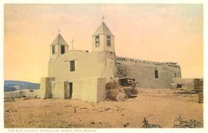 Old Church, Isleta Pueblo, New Mexico