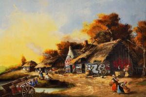 Old Country Village Graffiti