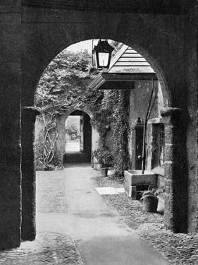 Old Court in the Precincts of Exeter Cathedral, Devon, 1924-1926 by E Bastard