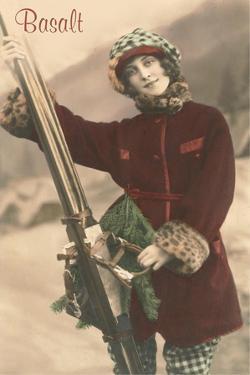 Old Fashioned Skier, Basalt