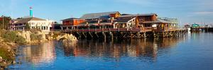 Old Fisherman's Wharf, Monterey, California, Usa