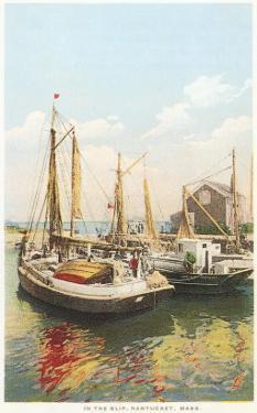 Old Fishing Boats, Nantucket, Massachusetts