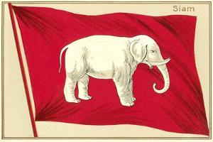 Old Flag of Siam