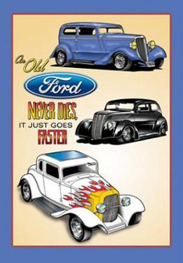 Old Fords Never Die They Just Go Faster