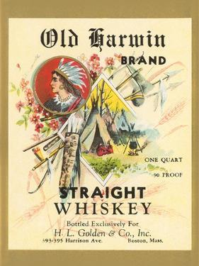 Old Harwin Whiskey Label