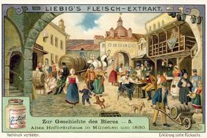 Old Hofbrauhaus in Munich, 1830