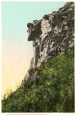 Old Man of the Mountains, White Mountain, New Hampshire