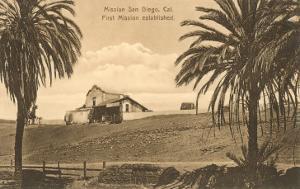 Old Mission San Diego, California