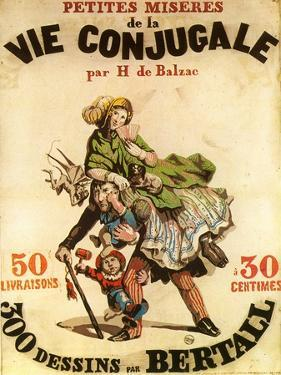 Old Playbill for Balzac Play