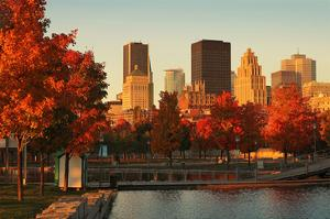 Old Port Montreal Fall Season