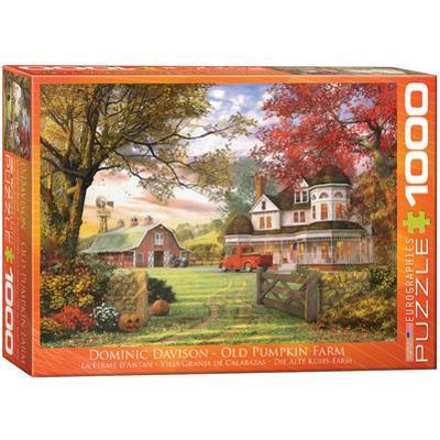 Old Pumpkin Farm by Dominic Davison 1000 Piece Puzzle