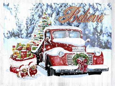 Red Truck Christmas by Old Red Truck
