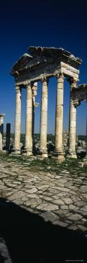 Old Ruins of a Built Structure, Entrance Columns, Apamea, Syria
