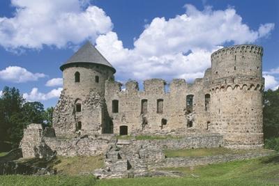Old Ruins of a Castle, Cesis, Vidzeme, Latvia