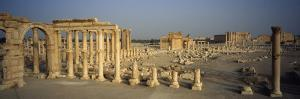 Old Ruins of Temple of Bel, Palmyra, Syria