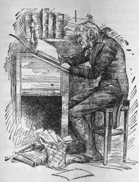 Old Scrooge Sat Busy in His Counting House'
