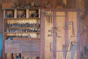 Old Shaker Wood Workshop Photo Poster