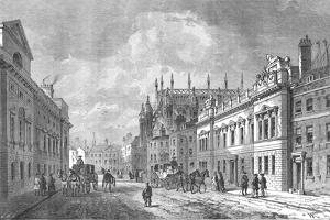 Old Street, Market Street, Westminster, 1820