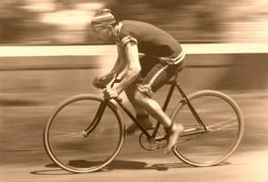 Old Time Bicycle Racer