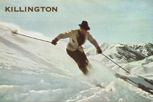 Old Time Skier, Killington