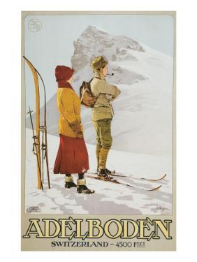 Old Time Skiers, Adelboden, Switzerland