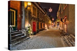 Old town of Quebec City Canada