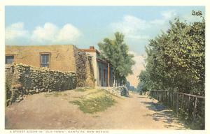 Old Town, Santa Fe, New Mexico