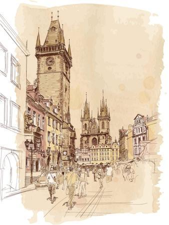 https://imgc.allpostersimages.com/img/posters/old-town-square-prague-czech-republic-a-vector-sketch_u-L-PU7RMH0.jpg?p=0