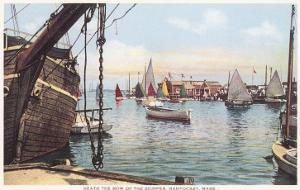 Old Wooden Ship, Nantucket, Massachusetts