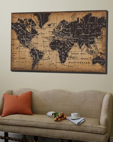 Old World Map-Pela Design-Loft Art