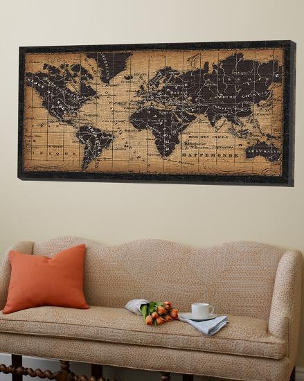 Old World Map--Loft Art