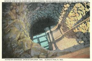 Oldest Indian-Spanish-American Well in United States