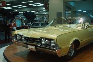 Oldsmobile Being Displayed at Auto Show