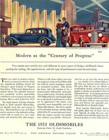 Oldsmobile Century of Progress