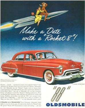 Oldsmobile-Date With Rocket 88