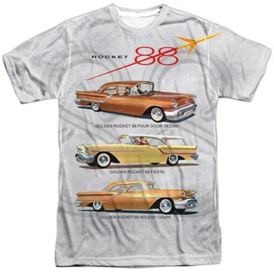 Oldsmobile- Delta 88 Golden Rockets