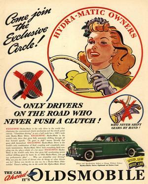 Oldsmobile - Hydra-Matic Owner