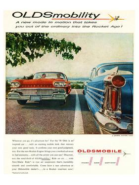 Oldsmobile-Into the Rocket Age
