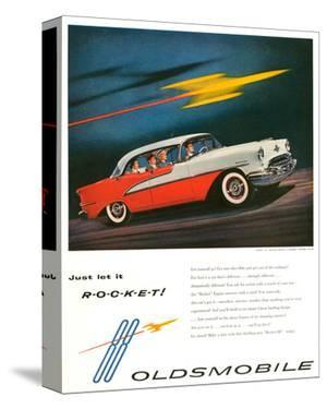 Oldsmobile-Just Let It Rocket