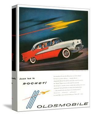 Oldsmobile-Just Let It Rocket