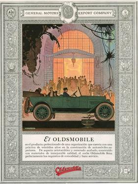 Oldsmobile, Magazine Advertisement, USA, 1920