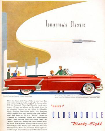 Oldsmobile-Tomorrow's Classic