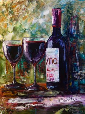 Aged Wine by Olena Art