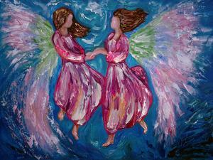 Angelic Dance by Olena Art