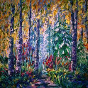Deep In The Woods 2 by Olena Art