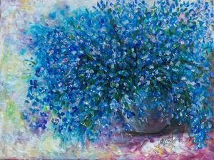 Forget Me Nots by Olena Art