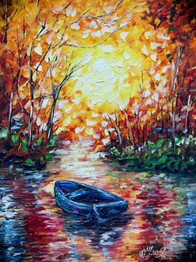 Impression Sunset by Olena Art