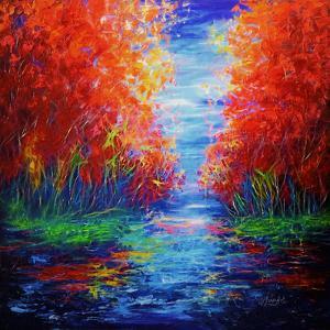 Lake View by Olena Art